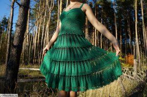 Платье вязаное, купить