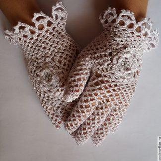 Ажурные перчатки,купить