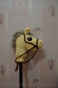 лошадка на палочке, купить