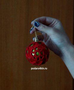 Ёлочные игрушки ручной работы