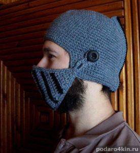 шапка шлем рыцаря купить